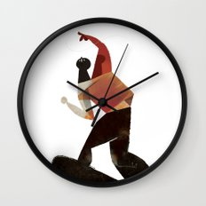 kamikaze kite Wall Clock
