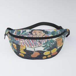 Interior with Etruscan Vase - Henri Matisse - Exhibition Poster Fanny Pack