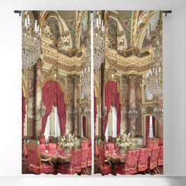 Newport Mansions, Rhode Island - The Breakers Dining Room by Jeanpaul Ferro Blackout Curtain