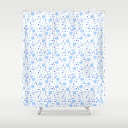 Forget Me Knot Shower Curtain