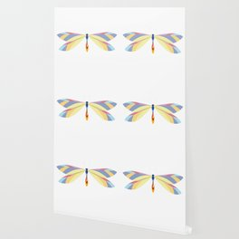 Colorful Dragonfly Wallpaper