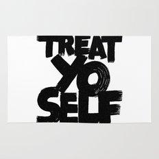 treat yo self Rug