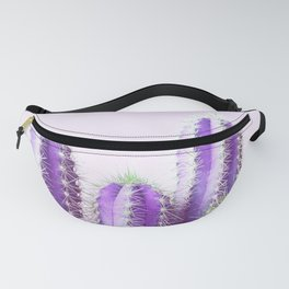 Cactus Family - Purple Fanny Pack