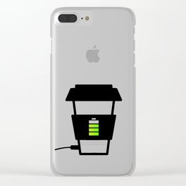 Charging... Clear iPhone Case