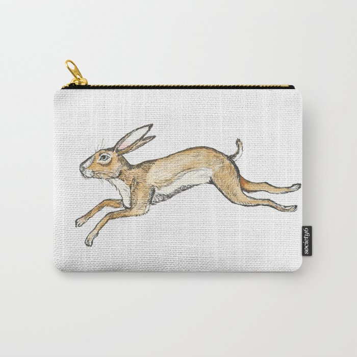 Spring rabbit Carry-All Pouch