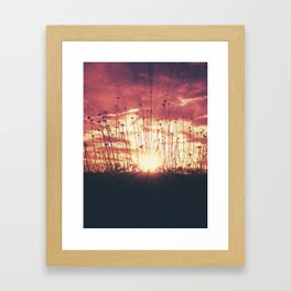 Arise and Shine Framed Art Print