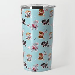 Zombie Cats Travel Mug