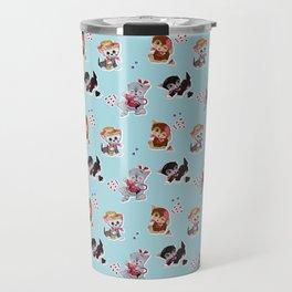 Zombie Cats Travel Mug