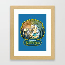 Disenchantment vs Beauty and the Beast Framed Art Print
