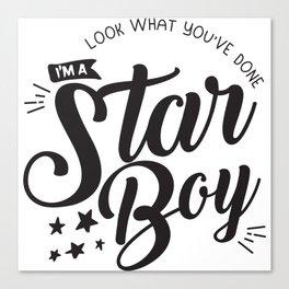 I am a Starboy Canvas Print
