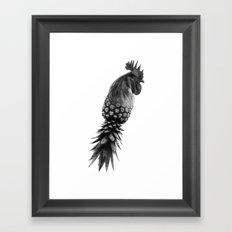 Pineapple Chicken Framed Art Print