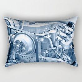 Turbo Diesel Engine Rectangular Pillow