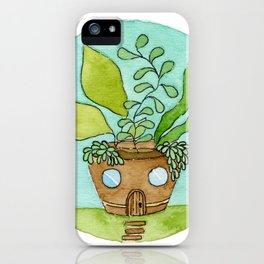 In The Garden: March iPhone Case