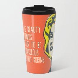 Marilyn pop art Travel Mug