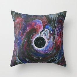 The Devourer Throw Pillow