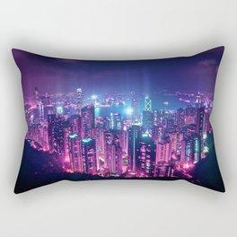 Neo Hong Kong Rectangular Pillow