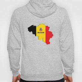 Belgium map Hoody