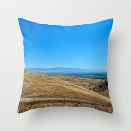 Long way round Throw Pillow