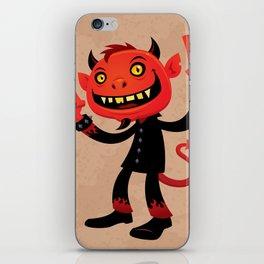 Heavy Metal Devil iPhone Skin