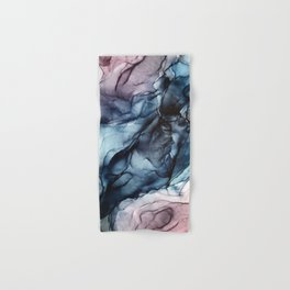 Blush and Darkness Abstract Paintings Hand & Bath Towel