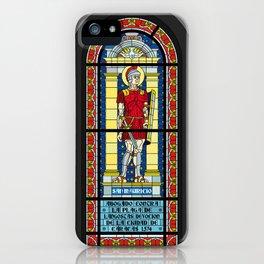 Vitral de la Catedral Metropolitana de Caracas iPhone Case