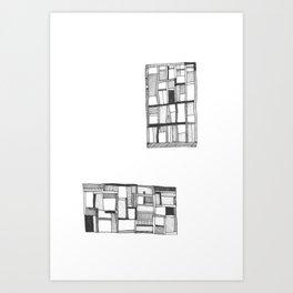 Lost Keys Cafe Art Print