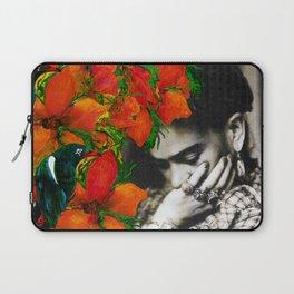 Tribute to Frida Kahlo #40 Laptop Sleeve