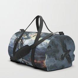 Valkyrie and Crows Duffle Bag