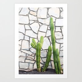 Cactus at the ACE Hotel Art Print