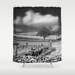 Cloud Wall Shower Curtain