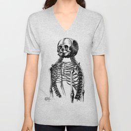 The Creepy Twins Unisex V-Neck