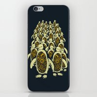 penguins iPhone & iPod Skins featuring penguins by Kiryadi