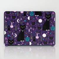 kittens iPad Cases featuring Halloween Kittens  by Carly Watts