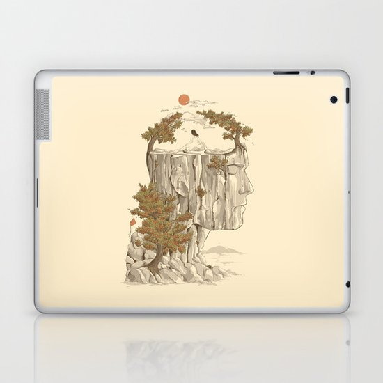 A Beautiful Mind Laptop & iPad Skin