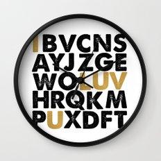i luv u Wall Clock