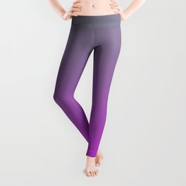 GET LOST - Minimal Plain Soft Mood Color Blend Prints Leggings