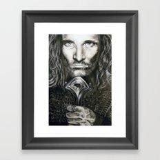 Aragorn Framed Art Print