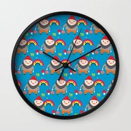 The Rainbow Dwarf Wall Clock