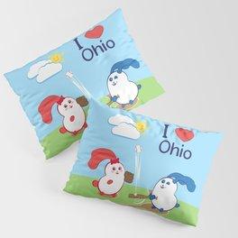 Ernest and Coraline | I love Ohio Pillow Sham