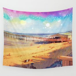 Nags Head Pier Wall Tapestry
