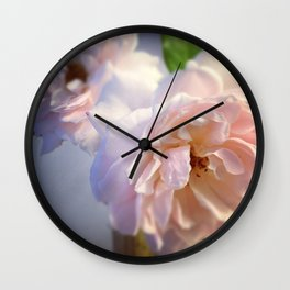 Luna Rosas Wall Clock