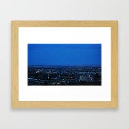 The Border Framed Art Print