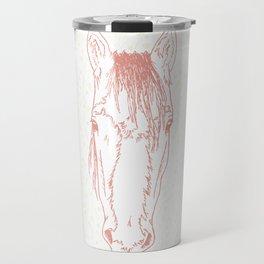 Sharpe     Pink Travel Mug
