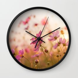 Autumn light Wall Clock