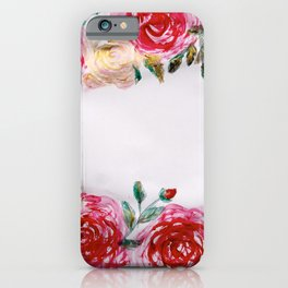 Roses for me iPhone Case