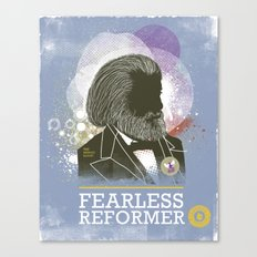 Fearless: Reformer Canvas Print