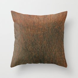 Screaming Lines Throw Pillow