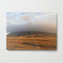 Plains Mist at Mato Paha Metal Print
