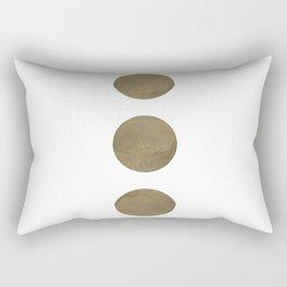 Moon Phases 2 Rectangular Pillow
