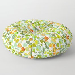 nice_feuilles_Clair Floor Pillow